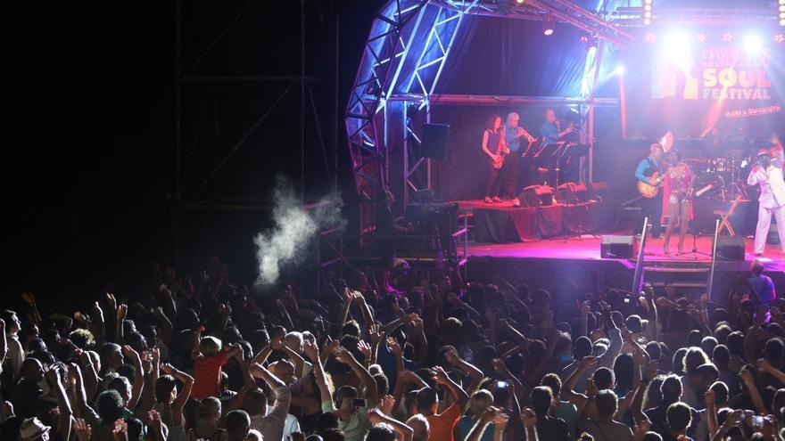 Maspalomas Soul Festival. (Alejandro Ramos)