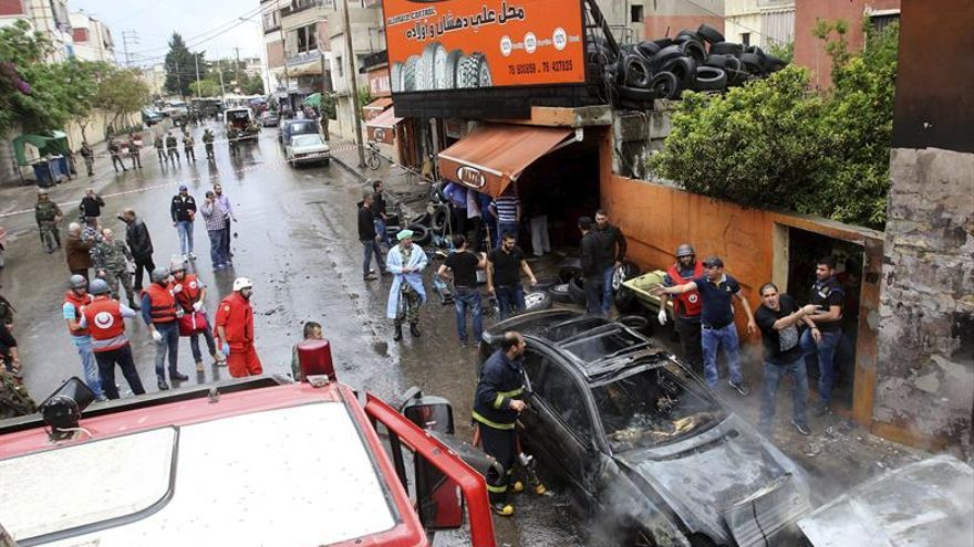 Dos muertos en choques armados en un campo de refugiados palestinos en el Líbano