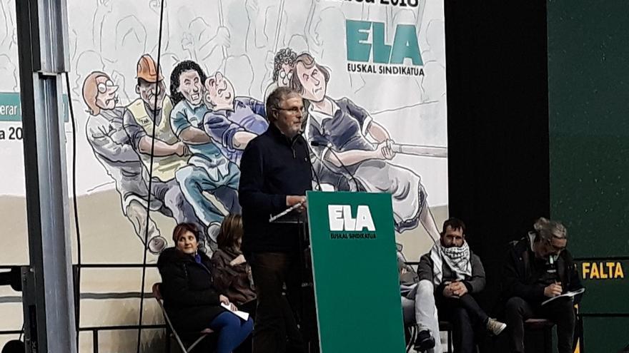 """Muñoz advierte de que ELA """"no irá a ningún sitio donde el objetivo sea dormir la reivindicación"""""""