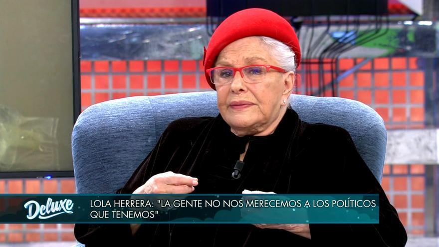 Lola Herrera en 'Sábado deluxe'