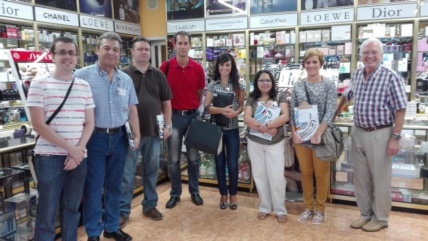 El proyecto es fruto de un convenio firmado recientemente entre la Asociación de Empresarios del Casco Histórico y la Academia Canarias.