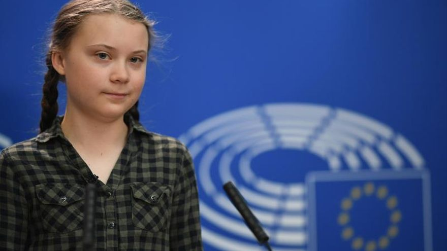 Activista sueca por el clima insta a votar en unas elecciones clave para los jóvenes
