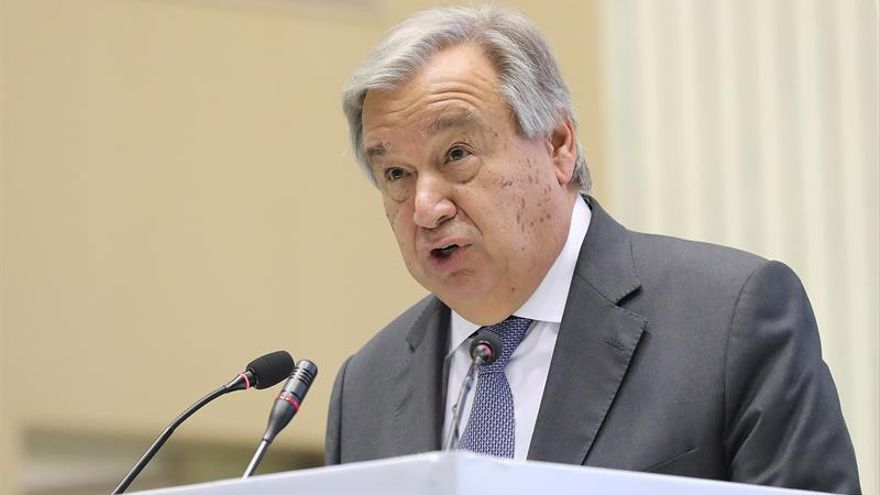Destitución del parlamento Sri Lanka preocupa al secretario general de la ONU