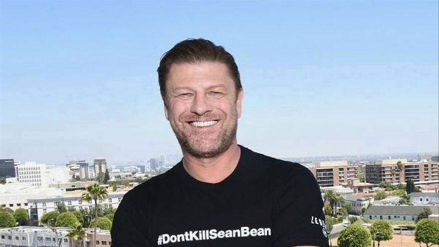 Sean Bean, en la campaña de 'Legends'