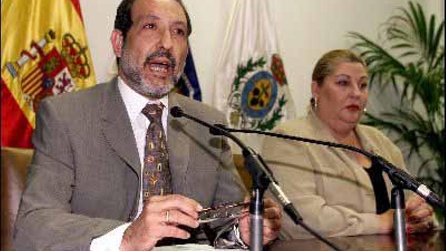 José Luis Martín y Herminia Gil.