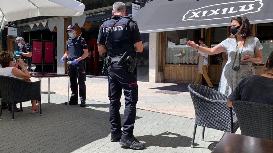 3.030 sanciones en Euskadi por no utilizar la mascarilla y otras 1.009 por infracciones de la normativa sanitaria