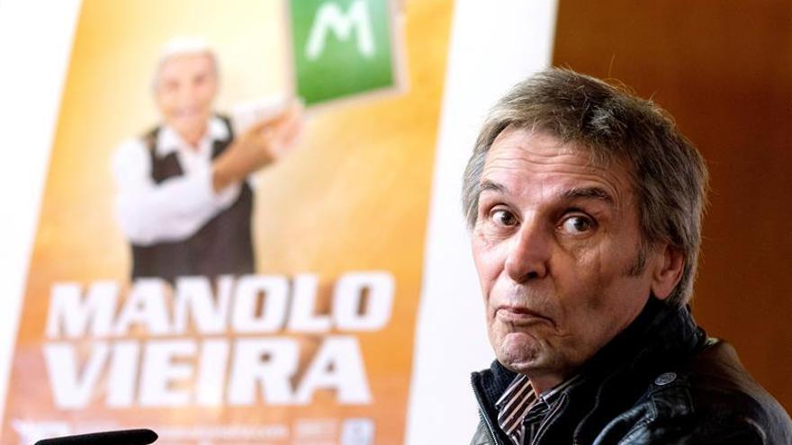 El cómico Manolo Vieira presenta su nuevo espectáculo '¡Cómo han pasado los años!'. EFE/Ángel Medina G.