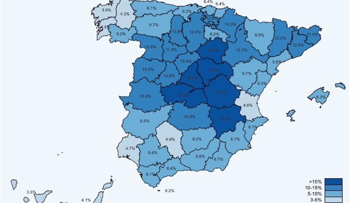 Mapa de Seroprevalencia en España