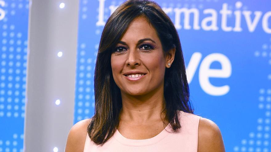 Mara Torres en la presentación de temporada de informativos de RTVE