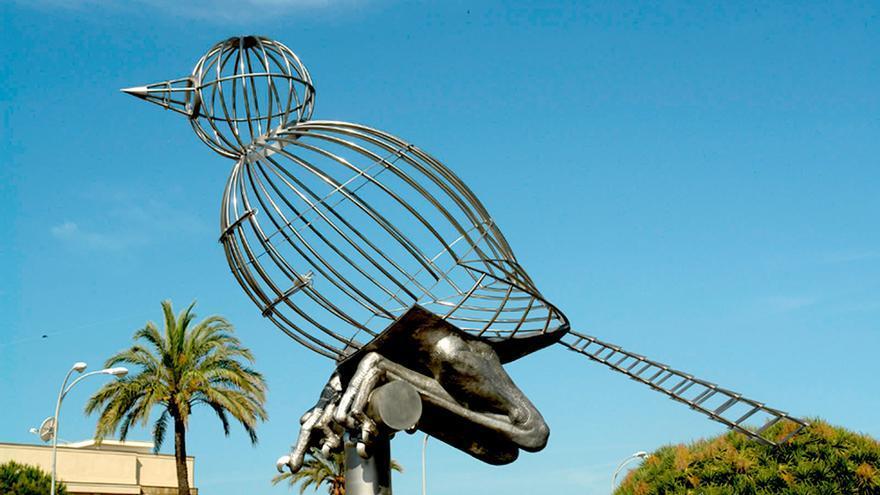 Pájaro-jaula, en Cádiz.
