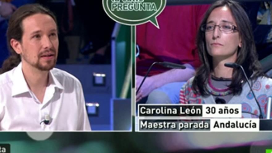 El 'pueblo' preguntó a Pablo Iglesias en laSexta por Albert Rivera, 'Tronos', la coleta...