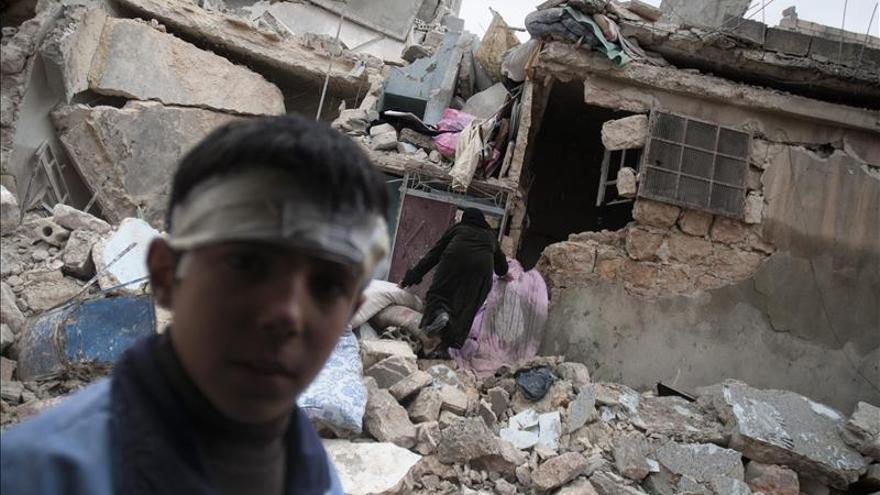 La oposición siria pide ayuda urgente para más de mil heridos en Al Quseir
