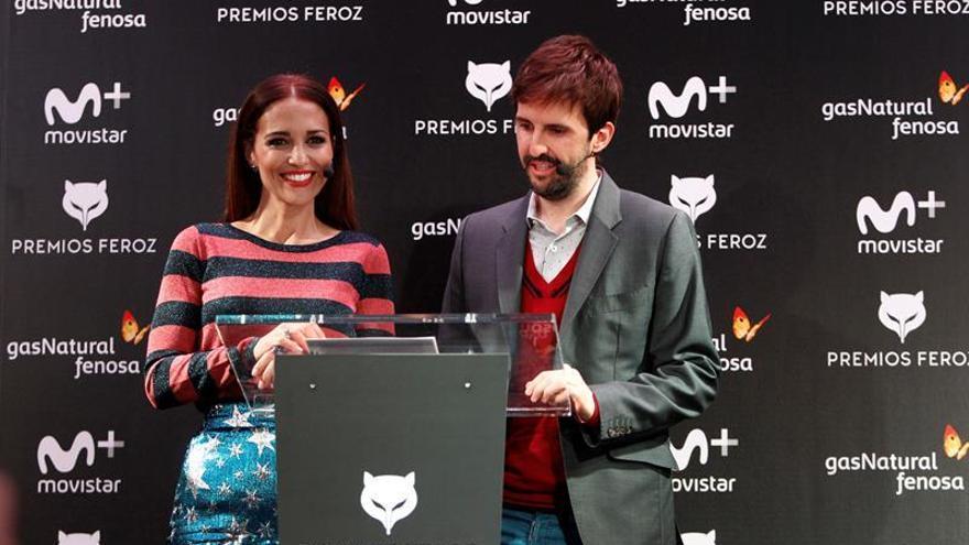 Paula Echevarría y Julián López, presentador de los Feroz 2018, anuncian los nominados