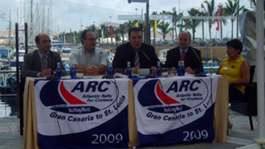Rueda de prensa, que tuvo lugar este jueves, de presentación del ARC. (ACFI PRESS)