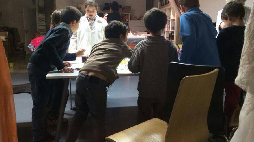 Uno de los talleres de Pequeños Alquimistas. / Pequeños Alquimistas