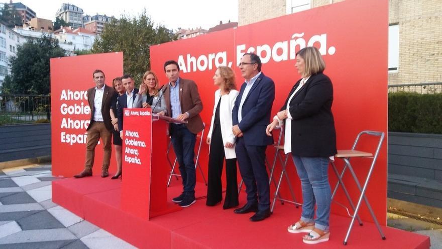 """Casares (PSOE), a Casado: """"No hay que querer a Cantabria, hay que comprometerse con Cantabria"""""""