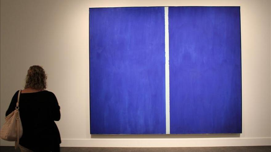 Una obra Newman se subasta por 43,8 millones de dólares en Nueva York