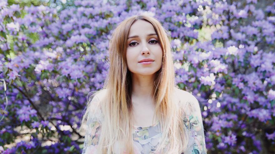La cantante Zahara, foto cedida por el Management