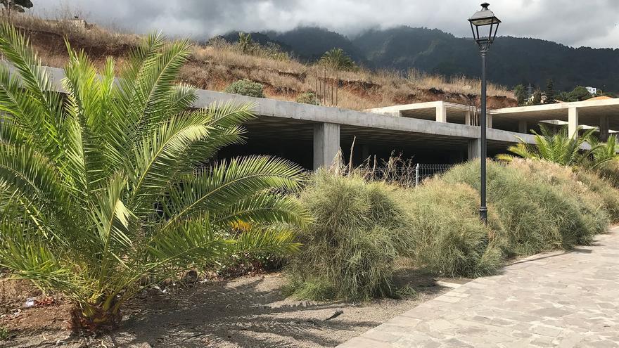 Obra del Agromercado de Breña Alta.