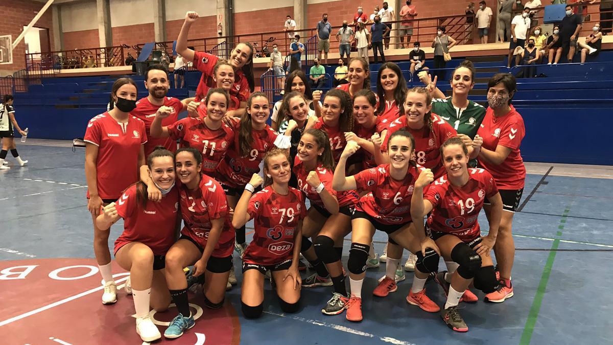 El Deza CBM celebra su pase a la final de la Copa de Andalucía
