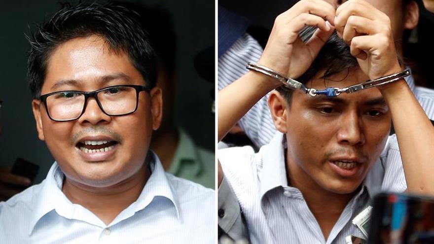 Los periodistas detenidos presentarán un recurso de apelación en Birmania