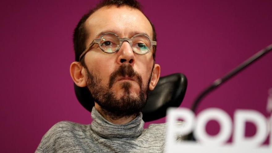 """Pablo Echenique no hará huelga el 8M porque tiene """"mucho trabajo"""""""