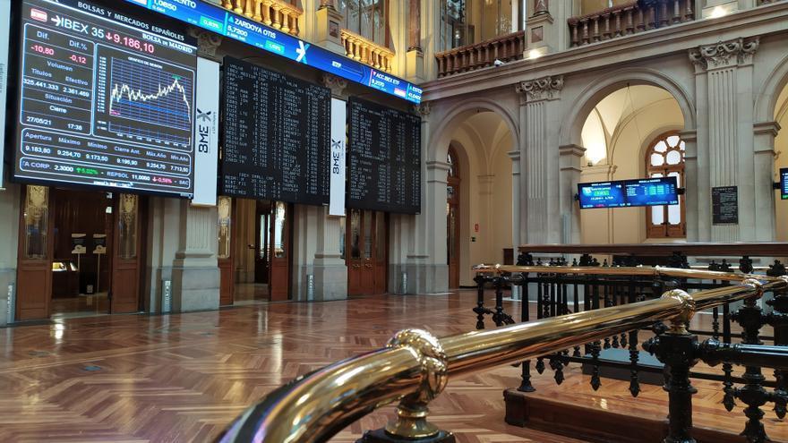 La Bolsa española abre con ganancias del 0,51 % y recupera los 9.200 puntos