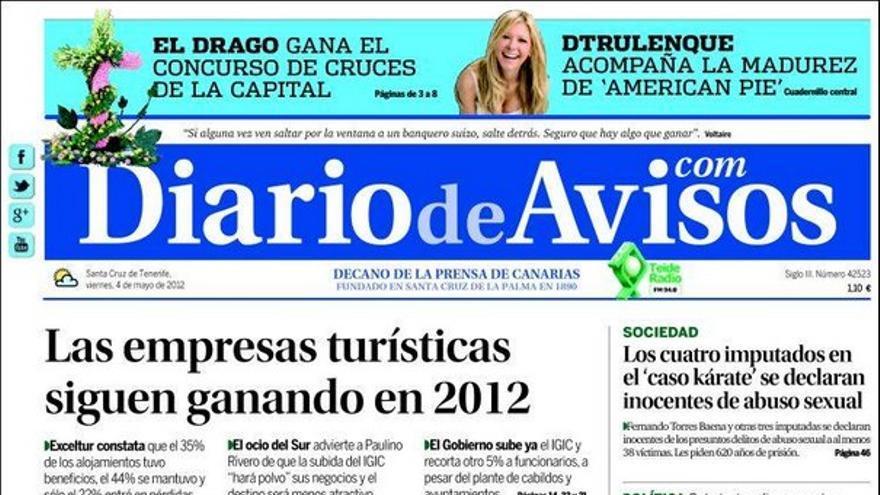 De las portadas del día (04/05/2012) #2