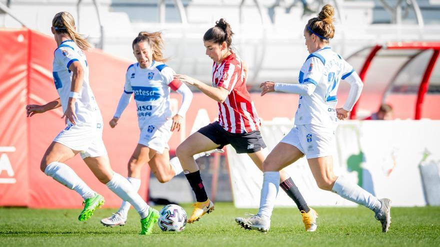 El fútbol femenino se desmarca del parón en Tenerife