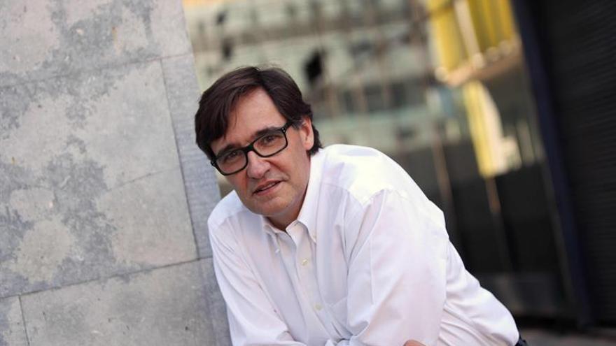 """Salvador Illa (PSC) ve al Govern """"secuestrado por quienes asaltan autobuses"""""""