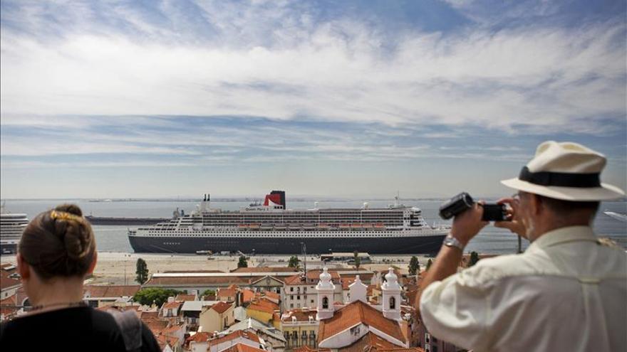 El puerto de Lisboa recibió más de 500.000 cruceristas en 2014