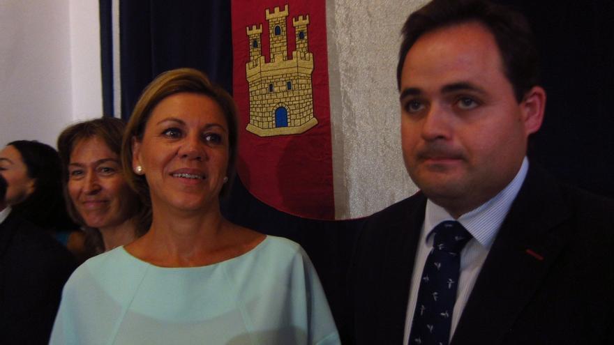 """Cospedal desconoce a qué se debe la actitud de Sánchez pero cree que """"no es buena para España"""" y pide """"responsabilidad"""""""