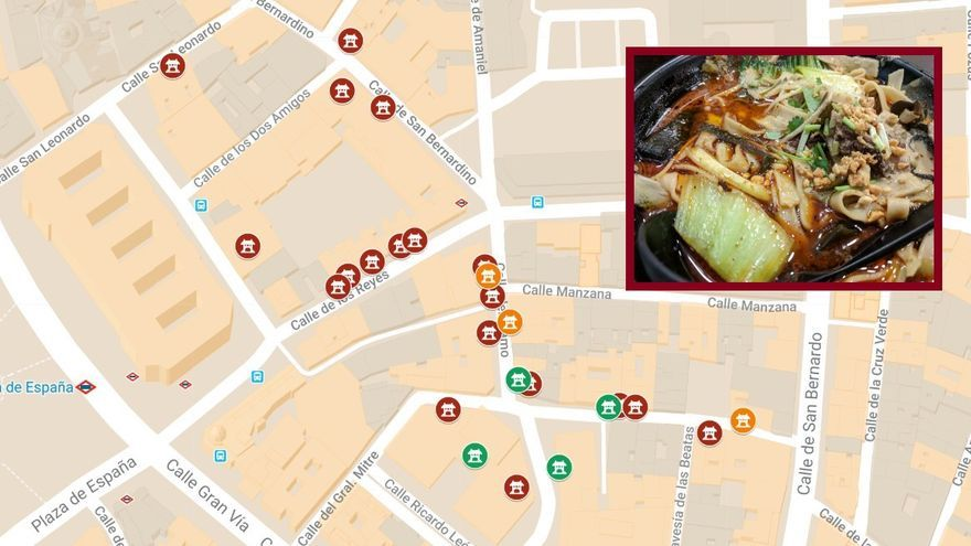 restaurantes chinos Madrid - Pequeña China