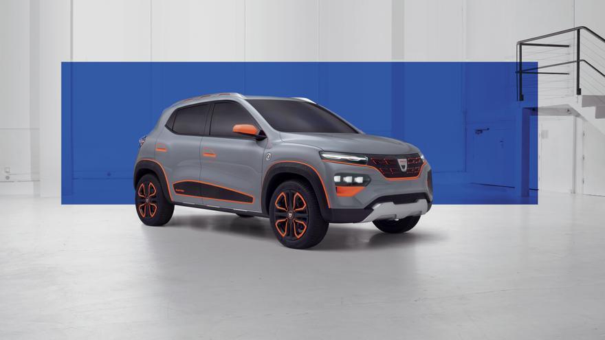El futuro modelo eléctrico de Dacia adoptará la forma de un 'showcar' denominado Spring.