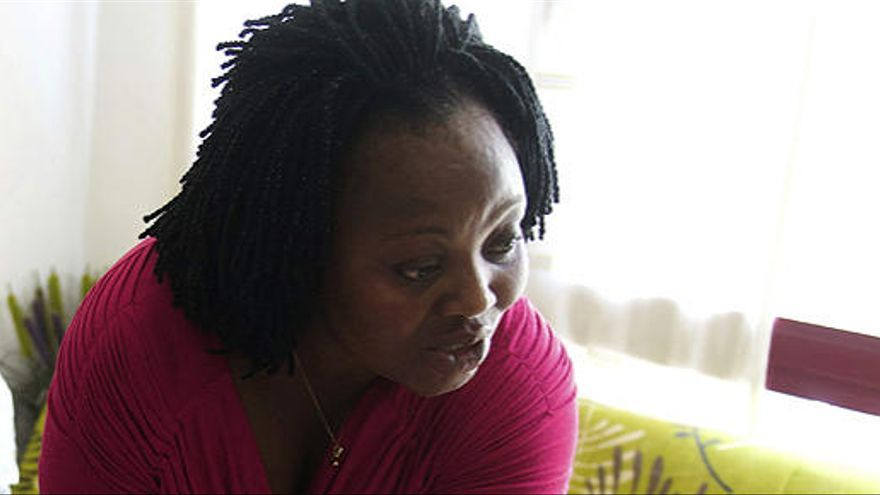 Lucie Ouattara, la madre de Adou. Foto: EFE