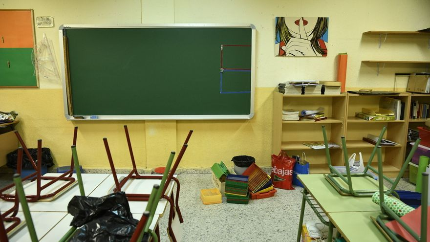 CCOO y CGT exigen reactivar el sistema de sustituciones de profesores al seguir la actividad vía telemática