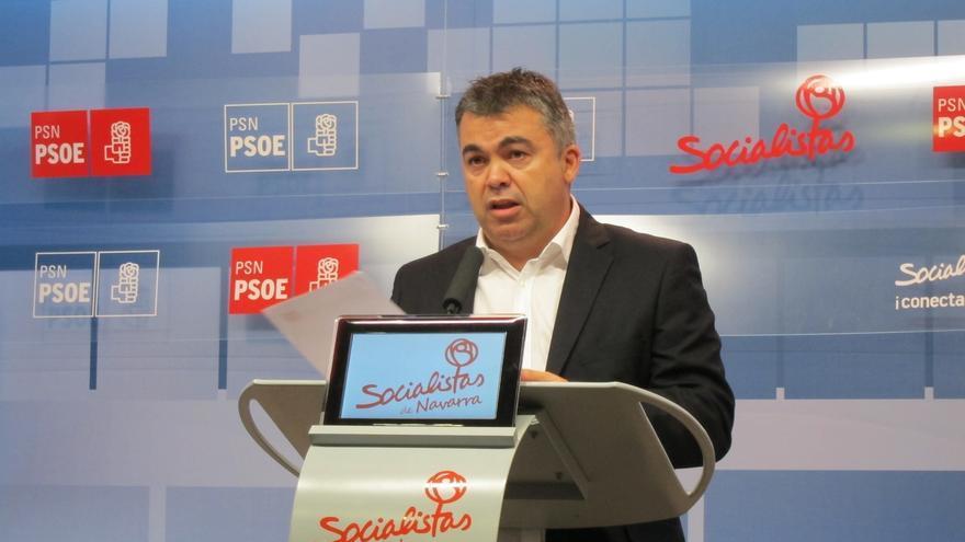 """Cerdán (PSN) afirma, tras decir que UPN """"prevarica"""", que se """"expresa en términos políticos y no jurídicos"""""""