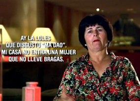 La compra de bragas tróspida de Mari Carmen y sus 'nueras'