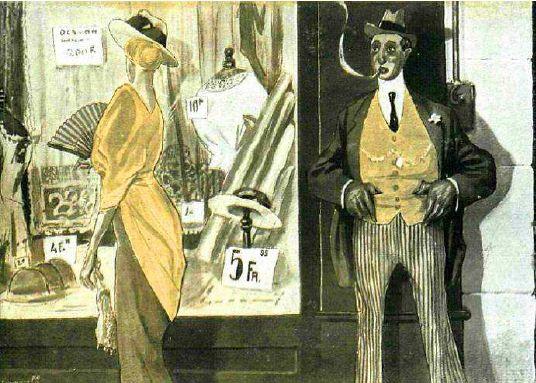 Dibujo de 1915, La Esfera