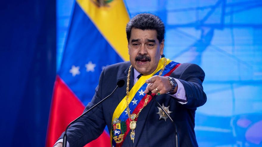 """Maduro dice que se """"están robando"""" el oro venezolano depositado en Inglaterra"""