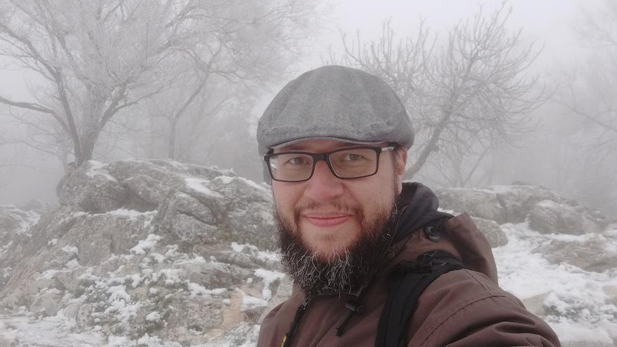 El escritor y editor Antonio de Egipto