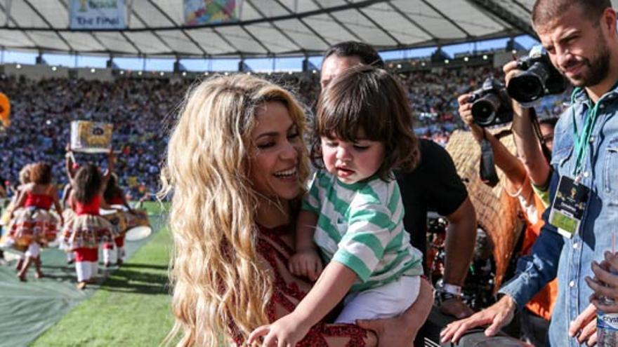Shakira y su hijo, Puyol y Gisele Bündchen: así brillaron en la clausura del Mundial