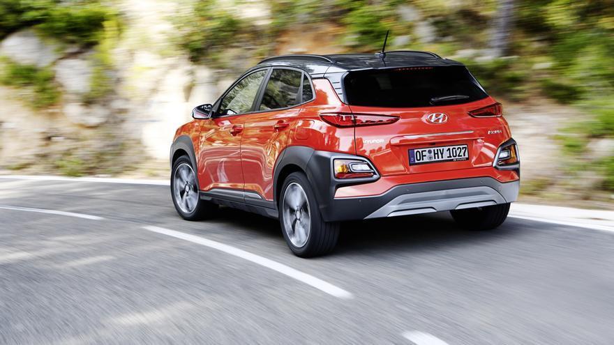 En el momento del lanzamiento, el Hyundai Kona se ofrece con dos motores de gasolina.