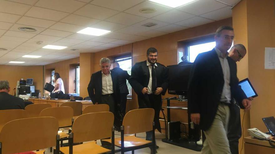 Imagen de archivo de una sesión de la vista oral del ya sentenciado caso Las Teresitas, en la Audiencia Provincial tinerfeña