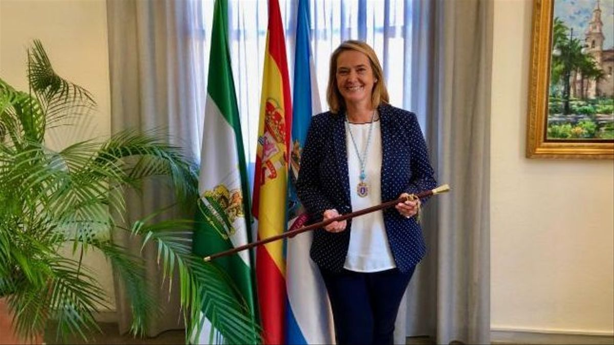 Luisa García Chamorro, alcaldesa y futura presidenta del PP de Motril