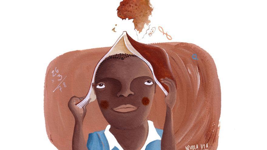 Las ilustraciones són obra de Nívola Uyá