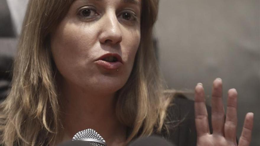 Tania Sánchez formaliza su renuncia al acta de diputada de la Asamblea de Madrid
