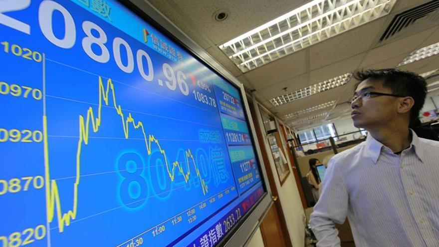 La Bolsa de Hong Kong abre con notables pérdidas del 1,58 por ciento