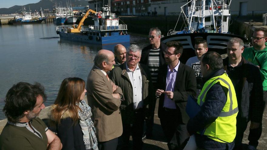 Comienza los dragados de los puertos de Colindres y Santoña, con una inversión de 320.000 euros