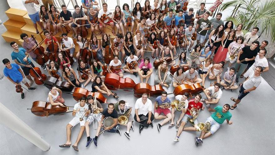 La Joven Orquesta de Cantabria (JOSCAN). | ESTEBAN COBO
